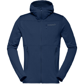 Norrøna Falketind Warm1 Stretch Zip Hoodie Herren indigo night